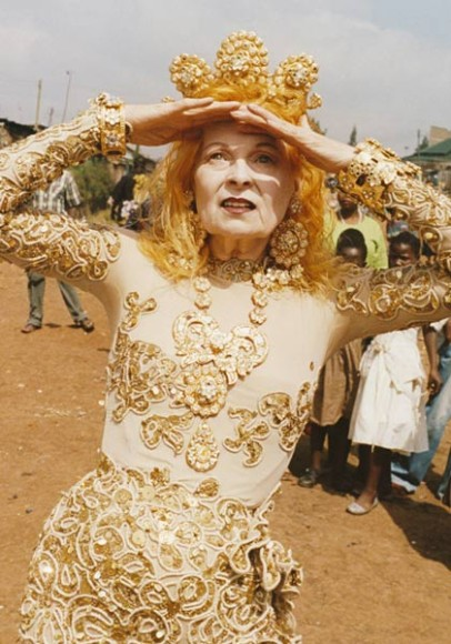 Vivienne Westwood_Ethical Activiist_Climate Revolution Campaign_Woo Woo Express