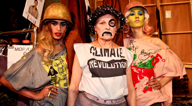 Vivienne Westwood_Climate Revolution Campaign_Woo Woo Express