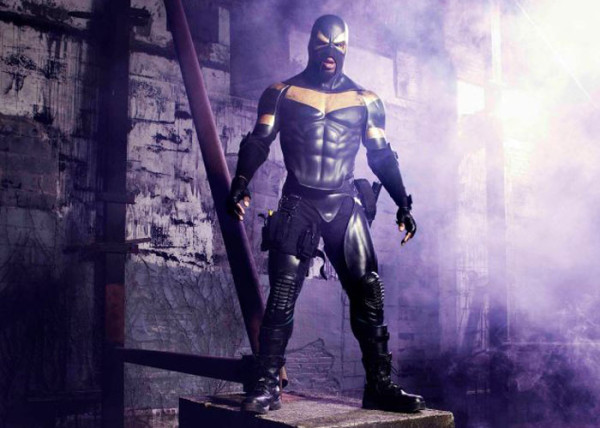 Phoenix Jones, real life superhero!